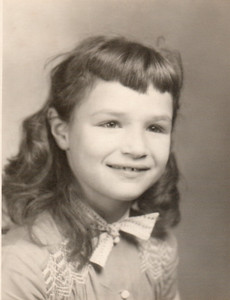 Margaret, fourth grade, 1956