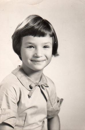 Margaret, 3rd grade, 1955