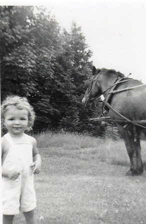 Margaret with horse