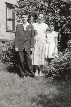 Tom, Dorothy, Margaret, c. 1959