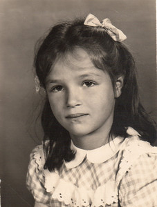 Margaret Mary, first grade, 1953
