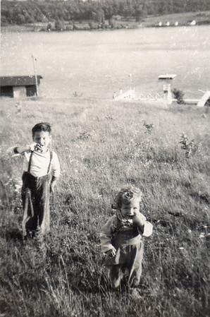 Tommy & Margaret, c. 1953, @ Eaton Reservoir