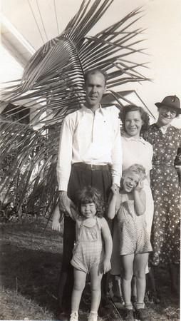 Front: Julie, Jimmy; Back: Gene, Dorothy, Emma Glass