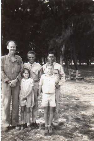 Front: Gene, Julie, Jimmy; Back: ?