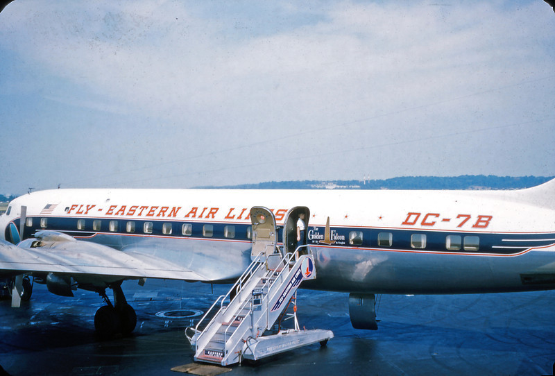 Rouse Family Photo Archive - Joseph Rouse Photos Eastern Airlines - DC-78