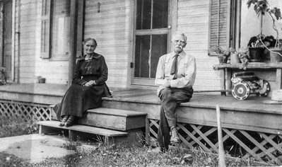 Charles & Eliza (Persons) home Nottawa aftermoving to town; Walker family lived here 1932-35 approx