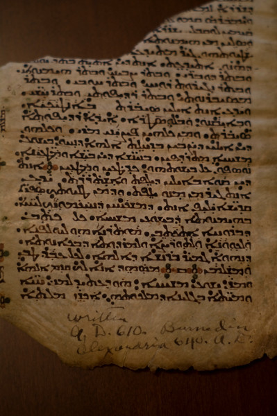 """The final individual to get blamed for the destruction of the Alexandria Library is the Moslem Caliph Omar. In 640 AD the Moslems took the city of Alexandria. Upon learning of """"a great library containing all the knowledge of the world"""" the conquering general supposedly asked Caliph Omar for instructions. The Caliph has been quoted as saying of the Library's holdings, """"they will either contradict the Koran, in which case they are heresy, or they will agree with it, so they are superfluous."""" So, allegedly, all the texts were destroyed by using them as tinder for the bathhouses of the city. Even then it was said to have taken six months to burn all the documents. But these details, from the Caliph's quote to the incredulous six months it supposedly took to burn all the books, weren't written down until 300 years after the fact. These facts condemning Omar were written by Bishop Gregory Bar Hebræus, a Christian who spent a great deal of time writing about Moslem atrocities without much historical documentation."""