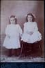 Written on back of photo - Marion and Pauline Mackenzie
