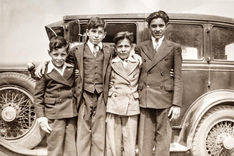 Harold Jojola (Far Left)