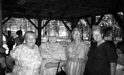 ?, Lizzi, Anna Browing, Bessie Browning McKinley