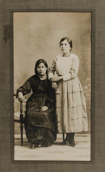 Sister of Fernando Pacheco (Right)