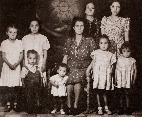 Children of Alberto Pacheco  (Eldest Brother) Wife: Carmen Fernandez Top: Mom; Concepcion Cuevas Pacheco Sister: Angelina Pacheco Franco  Children: (Left to right) Azuceno Pacheco F. Esther Pacheco F. Sergio Pacheco F. Concepcion Pacheco F. Cristina Pacheco F. Ursula Pacheco F.