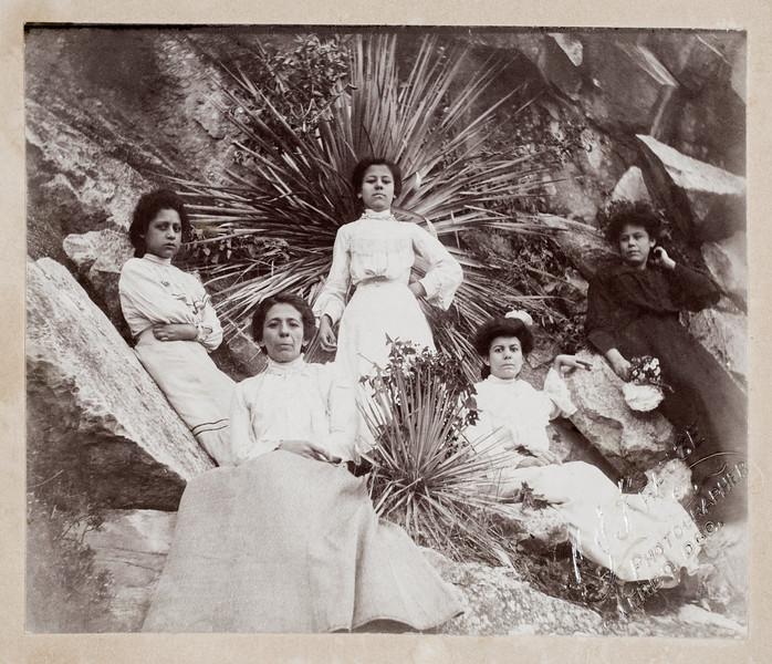 Juanita Epsino Salcido  Daughter of Gregorio Espino (middle one) Mother to Bertha Salcido Pacheco