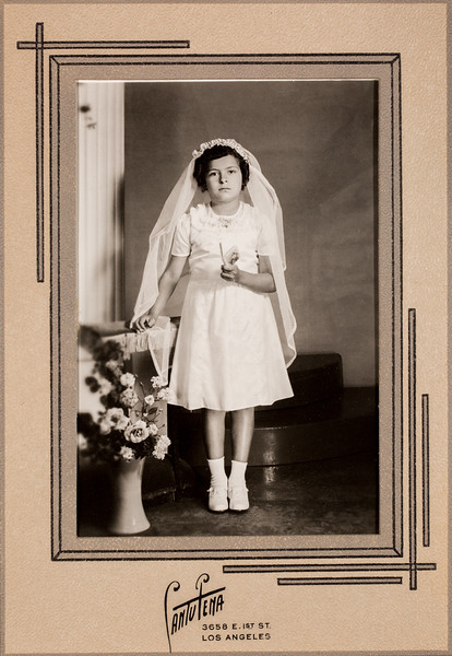 Socorro Salcido  Bertha's Sister August 3rd 1940