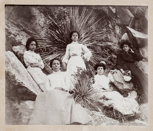 Juanita Epsino Salcido  Daughter of Gregorio Espino (middle one) Mother to Bertha Salcido Pacheco