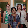 Laura Duncan, Surekha Kulkarni of Beaded Treasures Project and Alix Bishop.