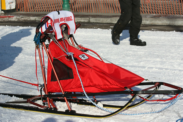 This is a sprint sled. Made for speed.