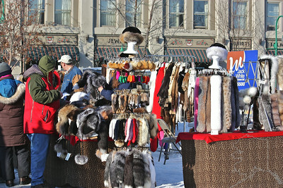It is Fur Rondy and that means Fur trading and selling.
