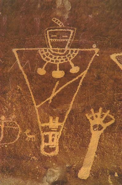 Fremont Petroglyphs.  Sego Canyon.  Thompson Springs, Utah