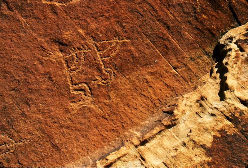Kokopellie figures at Monument Valley