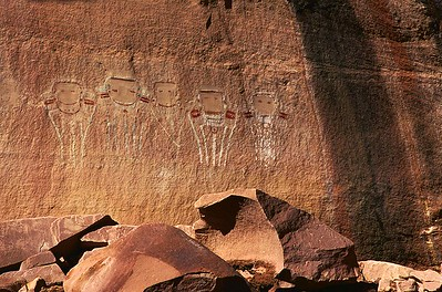 Five Faces.  Davis Canyon, Canyonlands National Park
