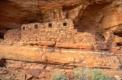 Another Fish Creek Canyon ruin.  West of Blanding, Utah.