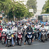Just some of the 5 million registered scooters in Saigon. Estimates are that there are another 1 million unregistered ones.