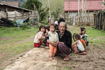Village of Ban Tin Kaew, Laos.
