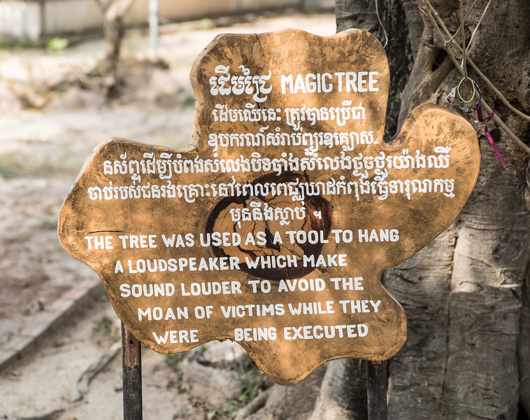 "The Killing Fields, Cambodia, where an estimated 1.7 million to 2 million people --men, women and children -- were killed because they were considered ""capitalists,"" too educated, or just enemies of the pure communist  farm-based country Pol Pot wanted to establish."