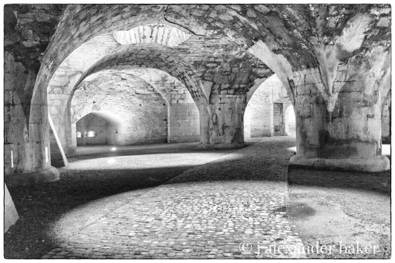 inside the Schaffhausen fortress