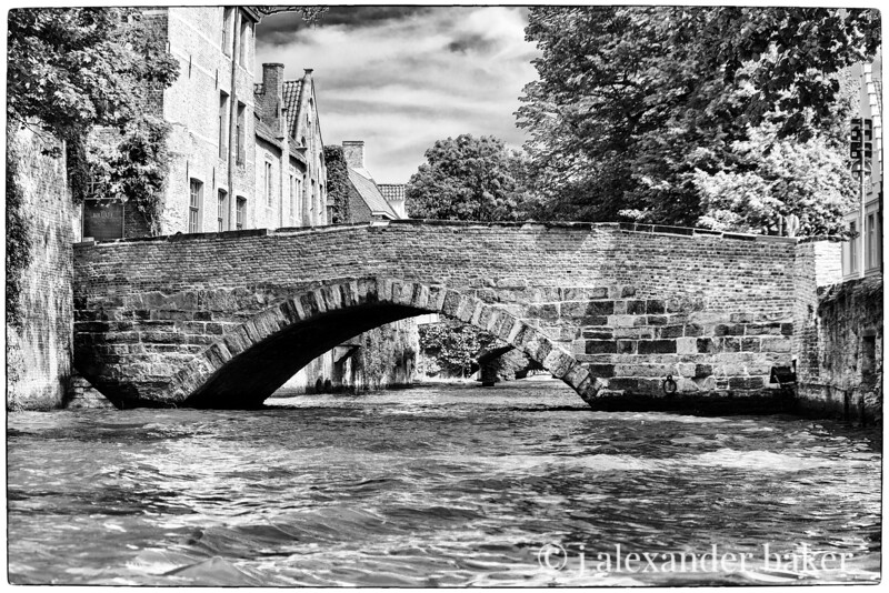 Canal Bridge, Bruges