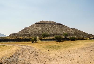 Sun Pyramid -Teotihuacan