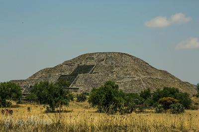 Sun Pryamid Teotihuacan.