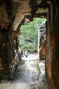 Formed walkways like this demonstrate the skill set of the ancient Mayan