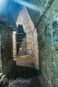 The interior pathway to the Queens tomb