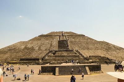 Moon Pyramid Teotihuacan