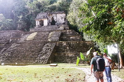 Temple of the Skull Pelenque