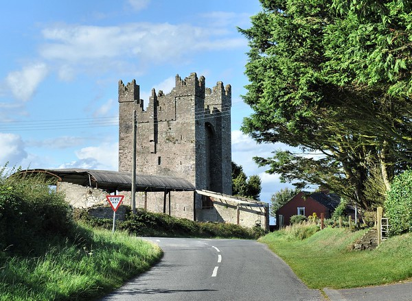 Kilclief Castle, County Down. Friday, 26th August 2016.
