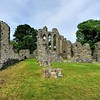 Inch Abbey, near Downpatrick, County Down.<br /> Friday, 3rd July 2015