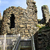 The south-east tower at Dunluce Castle, County Antrim