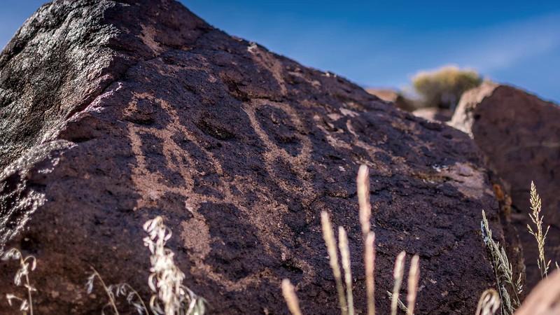 Prehistoric Petroglyphs in Western US