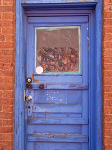 Thru the Blue Door