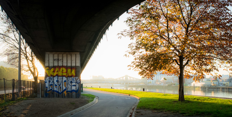Under the highway - France