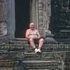 """""""The Happy Budda"""" Cambodia, Mar. 2003"""