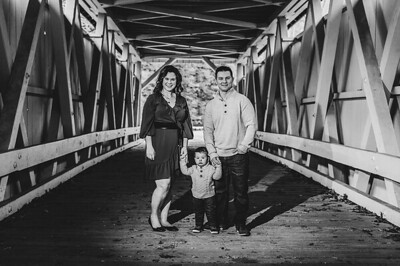 Anderson Family 003 BW