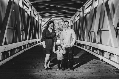 Anderson Family 002 BW