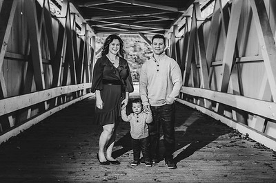 Anderson Family 001 BW