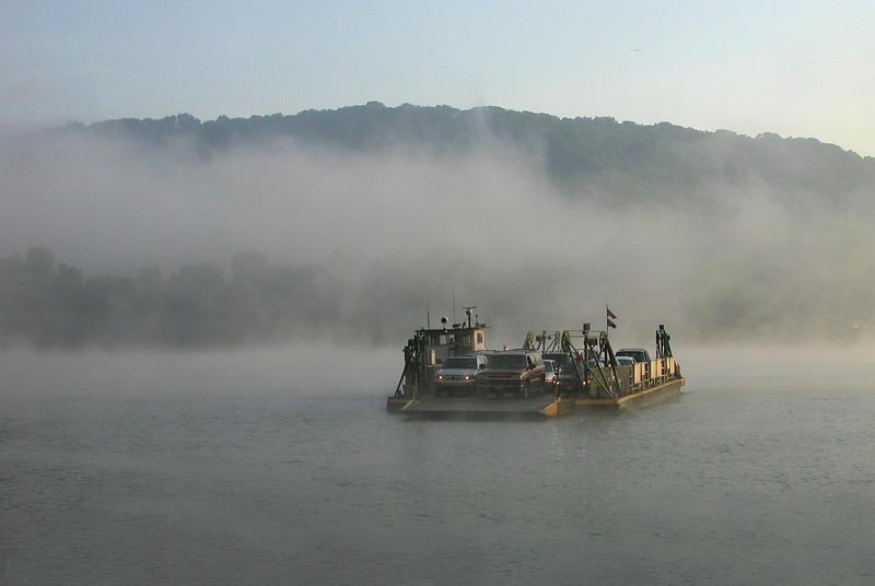 Lifting River Fog