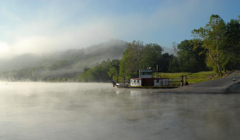 Drifting Fog on Constance Kentucky