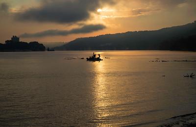 Larry Fishing The Ohio River